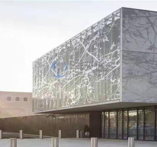 雕花外墙铝单板