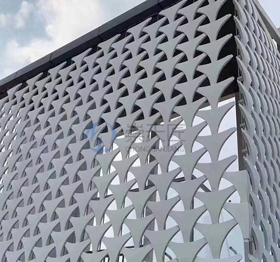 镂空氟碳铝单板
