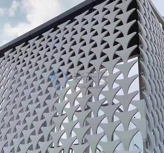 广州镂空氟碳铝单板