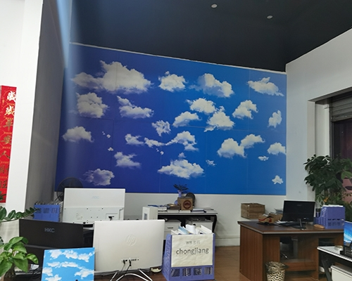 室内2.5MMUV打印铝单板
