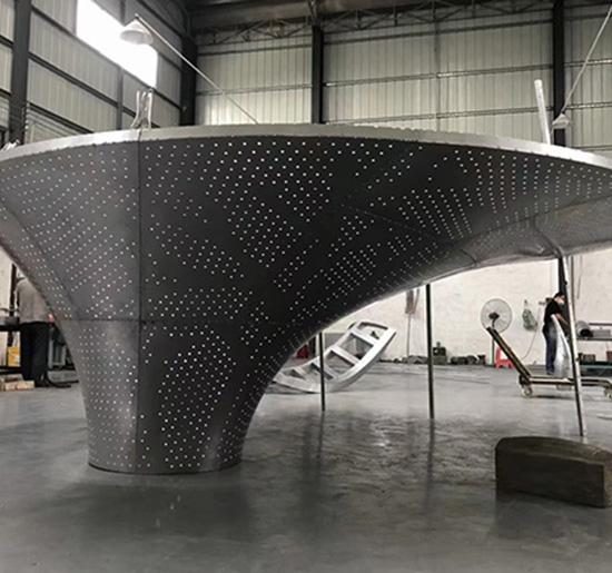 树形铝单板