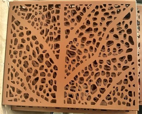 木纹铝单板铝方通定制