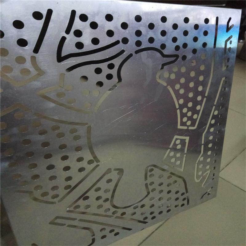外立面乱孔铝单板