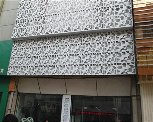 造型镂空铝单板