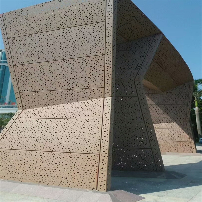 外墙氟碳造型铝单板