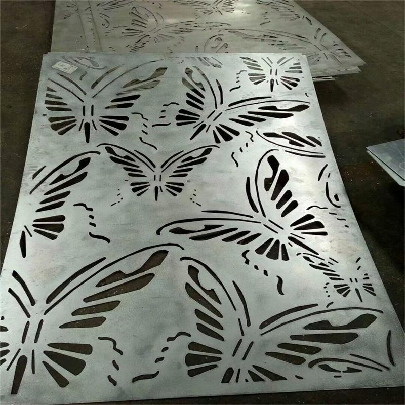 雕花铝板幕墙装饰