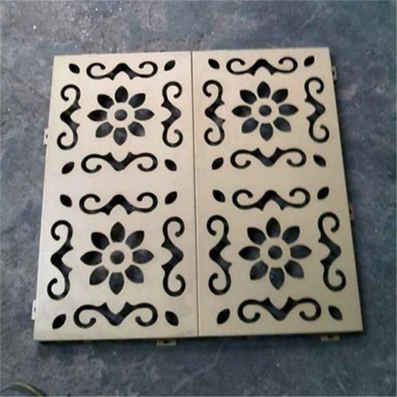 崇匠雕花铝单板