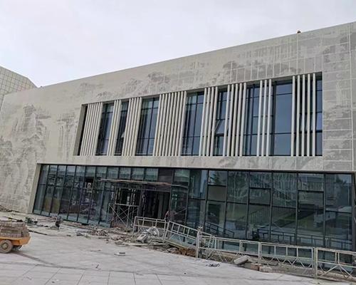 外墙艺术冲孔铝单板